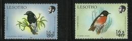 LESOTHO  1991  OVERPRINT/SURCHARGED  BIRDS  MNH - Non Classés