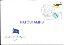 117426 ARGENTINA ANTARTIDA ANTARCTICA BASE DE EJERCITO ESPERANZA COVER 1996 JEFATURA DE INTELIGENCIA NO POSTCARD - Argentinien