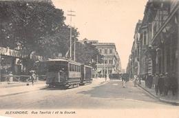 Rue Tewfick I Et La Bourse Alexandrie Alexandria Egypt - Alexandrie