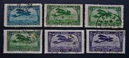 B2998 - Maroc - 1922-27- Sc. C3-C5-C10 - Luftpost