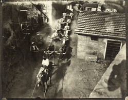 CARRARA QUARRIES ITALY MARBLE TAILLE DE LA PIERRE MINE MINAS MINING STONE MINES  21*16CM Fonds Victor FORBIN 1864-1947 - Profesiones