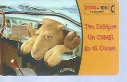 TELEFONICA  2000 PTA -  CAMEL - Puce ? - ESPAGNE - 12/2001 - Espagne