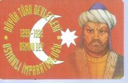 TÜRK TELEKOM 100 -  OSMANLI IMPARATORLUGU 1299/1922 - Puce ? - TURQUIE - Turquie