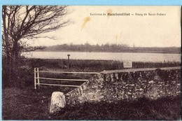 CPA 78 RAMBOUILLET Etang De Saint Hubert - Rambouillet