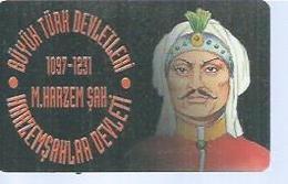 TÜRK TELEKOM 100 -  HARZEMSAHLAR DEVLETI 1097/1231 - Puce ? - TURQUIE - Turquie