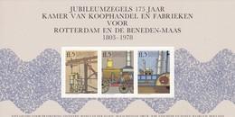 Nederland, Netherlands, 1978, Steam Engine, Train, Boat ** MNH Cinderella - Trains