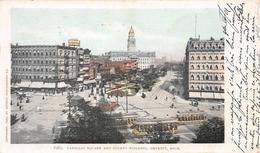 6285 Cadillac Square And County Building Detroit Michigan USA - Detroit