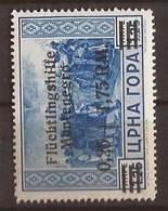 1944 24  FLUECHTLINGSHILFE DEUTSCHE BESAETZUNG MONTENEGRO CRNA GORA - MNH OHNE FALZ - Occupation 1938-45