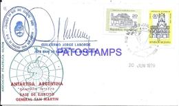 117440 ARGENTINA BUENOS AIRES COVER 1979 CIRCULATED TO ANTARTIDA ANTARCTICA BASE SAN MARTIN NO POSTCARD - Argentinien