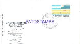 117441 ARGENTINA BUENOS AIRES COVER CIRCULATED TO ANTARTIDA ANTARCTICA BASE SAN MARTIN NO POSTCARD - Argentinien