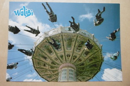 WALIBI SCHTROUMPF 57 HAGONDANGE / MAIZIERES-lès-METZ LORRAINE BIG-BANG SCHTROUMPF - Manège - Cartes Postales