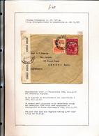 BELGIAN CONGO 1941 ISSUE ALBERT'S MEMORIAL CENSORED COVER FROM STANLEYVILLE 19.06.41 O UK - 1923-44: Briefe U. Dokumente