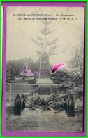 CPA (61 Orne) ST SAINT DENIS SUR HUISNE - Le Monument Aux Morts De La Grande Guerre 1914 - 1918 - France