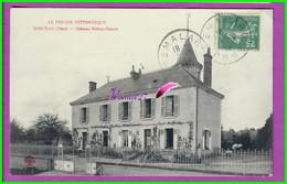 CPA (61 Orne) DORCEAU - Le Chateau Maison Neuve  - Voyagé Oblitéré - Francia