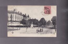 37 INDRE ET LOIRE , TOURS, L'Avenue De GRAMMONT Et La  Statue De BALZAC - Tours