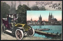 C6881 - Köln Cöln - Gruß Aus - Auto Car Oldtimer - Alfred Victor - Koeln