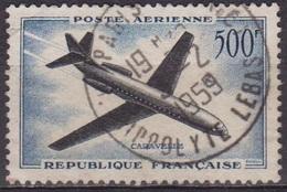 Poste Aérienne - FRANCE - Aviation, Sud-Aviation: Caravelle - N° 36 - 1957 - Luftpost