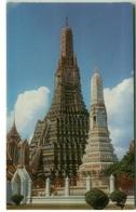 THAILAND - BANGKOK - WAT AROON - TEMPLE OF DAWN - EDIT PHORN THIP - STAMPS - AIR MAIL TO ITALY  (BG3948) - Tailandia