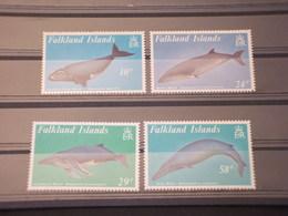 FALKLAND - 1989 FAUNA MARINA  4VALORI -  NUOVI(++) - Falkland