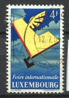 Lussemburgo 1954 Mi. 524 Usato 100% Mappa - Usati