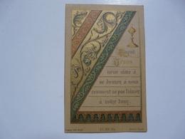 VIEUX PAPIERS - IMAGES PIEUSES : Souvenirs De La Première Communion - Evreux - Images Religieuses