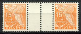 Svizzera 1935 Mi. WZ 33 Nuovo ** 100% 273 - Tete Beche