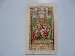 VIEUX PAPIERS - IMAGES PIEUSES : Souvenirs De La Première Communion - Saint Huit De Mézières - Images Religieuses