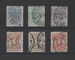ITALIE.  YT  Mandats  N° 1/6  Obl  1924 - 1900-44 Vittorio Emanuele III