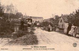 (121)  CPA  Levoncourt  Pont Sur Le Ruisseau De Lavallée    (Bon Etat) - France