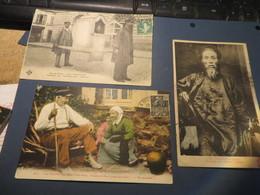 Lot De 17  Cartes Folklore,coutume,regions Et Divers Et Assimilées,toutes Scannées(lot 200 ) - 5 - 99 Postkaarten