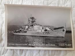 Bateau De Guerre Commandant Rivière - Warships