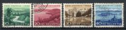Svizzera 1955 Mi. 614-617 Usato 100% Pro Patria - Pro Patria