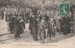 St. Cloud : Champ De Courses - Les Heureux Veinards. (TTB Plan.) - Saint Cloud