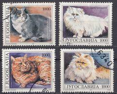 JUGOSLAVIJA - 1992 - Serie Completa Usata Formata Da 4 Valori: Yvert 2408/2411. - 1992-2003 Repubblica Federale Di Jugoslavia