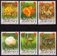 Alderney MiNr. 224/29 ** Pilze - Alderney