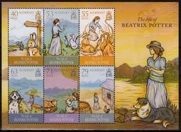 Alderney MiNr. Bl. 33 ** 70. Todestag Von Beatrix Potter - Alderney