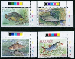 Malawi MiNr. 525/28 ** Fische - Malawi (1964-...)