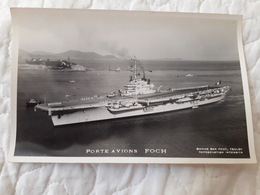 Bateau De Guerre Porte Avion Foch - Oorlog