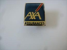 PINS AXA ASSURANCES LOGO / 33NAT - Banques