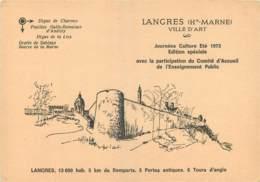 52 - LANGRES - Langres