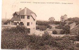Nieuport-Bains  Cottage Dans Les Dunes  Circulé En 1928 - Nieuwpoort