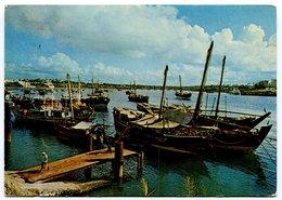 Kenya - Arab Dhows - Port - Boats - Fishing - Kenia