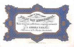 Fabrique De Produits Chimiques  Porcelein Kaart 11x7cm Geluveld - Zonnebeke