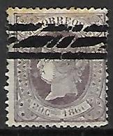 ESPAGNE    -    1866.    Y&T N° 85 Oblitéré  . - Used Stamps