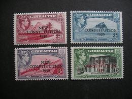 GIBRALTAR Adoption Of Constitution Of 1950 MH - Gibilterra