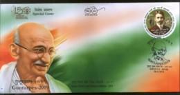 India 2019 Mahatma Gandhi Gunturpex Special Cover # 18568 - Mahatma Gandhi