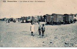 Nieuport-Bains  Les Cabines De Bains Circulé En 1938 - Nieuwpoort