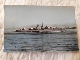 Bateau De Guerre Maillé Brézé - Warships