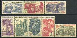 Cecoslovacchia 1964 Mi. 1463-1470 Nuovo ** 100% Spazio - Cecoslovacchia
