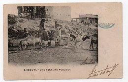 Djibouti. Public Fontain. - Gibuti